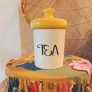 🌼Vintage 1970's Ceramic Tea Canister